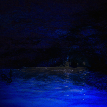 海辺の暗道